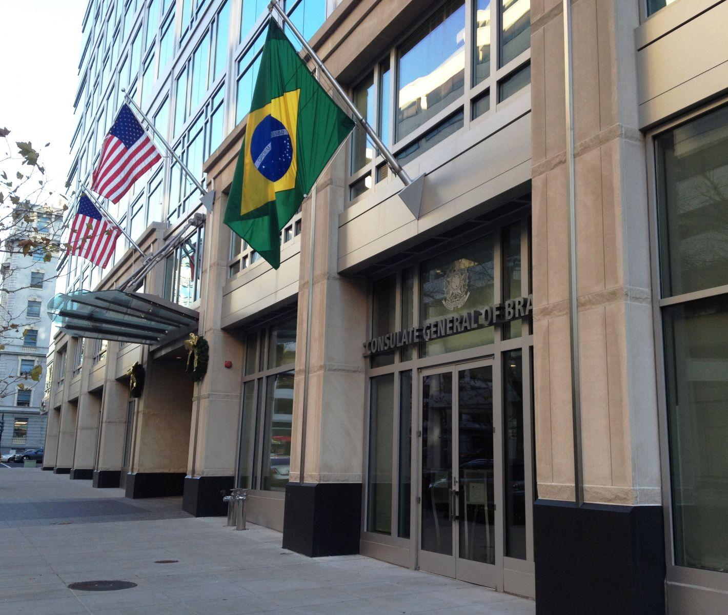 Consulados americanos no Brasil